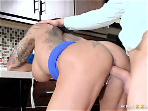 Ashton Blake tears up her daughters-in-law dude