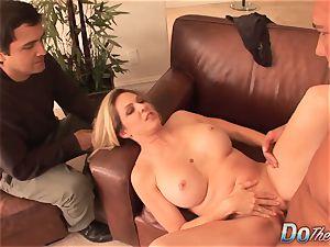 Cuck observes wife Angela Attison Do assfuck