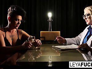 Whorley Quinn interrogates Jezebelle then gets DP'd