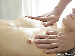 massage X - Flirty mood leads to hump