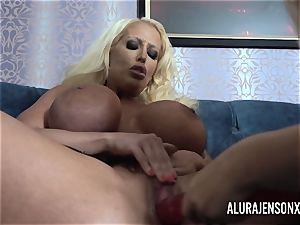 Alura and her big-boobed lesbo friend Dolly get nasty
