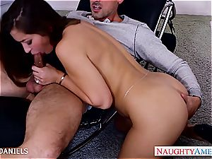 killer Dani Daniels leaps on his erection for a ride