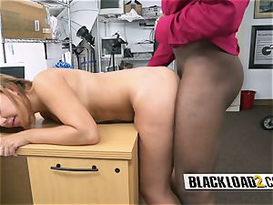 uber-sexy bootylicious female is fucked rock hard by kinky directors huge black chisel