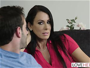 LoveHerFeet - Stepson fucks His Stepmom On The couch