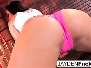 marvelous Jayden Jaymes Plays With Her giant cupcakes