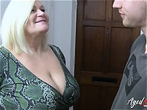 AgedLovE xxx with torrid Mature Lacey Starr