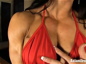 mischievous fit ladies uses fuck stick on enormous pearl