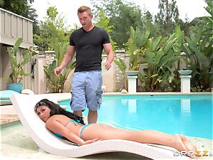 Kylie Sinner swaps bum butt-plug for her stepbrothers stiffy