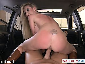 big-chested housewife Nikki Benz take bone in pov