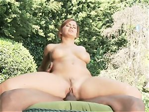 multiracial orgy with Keisha Grey receiving a ginormous ebony pink cigar