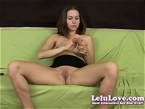 Lelu Love-Steven bday climax fake penis vibrator