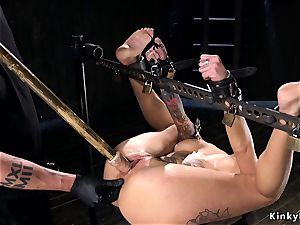 tied and shackled alt honey booty caned