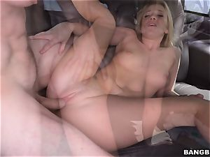 Bailey Brooke porked on the Bangbus