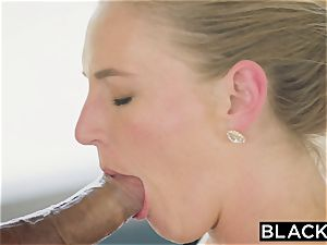 BLACKED steaming wifey cuckolds spouse with black neighbor