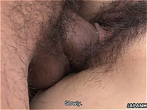 fur covered asian gets romped