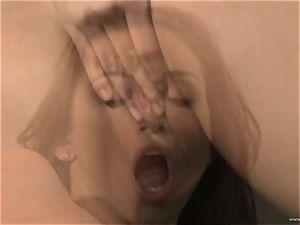 tormenting Celeste star loves finger screwing her cootchie