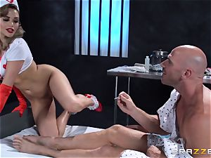 wish nurse Mia Malkova gets her patient thru his operation