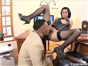 beautiful Renata dark-hued enjoys getting penetrated from behind