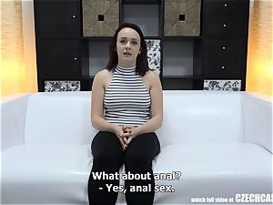 Czech audition - first-ever three-way in Her Life