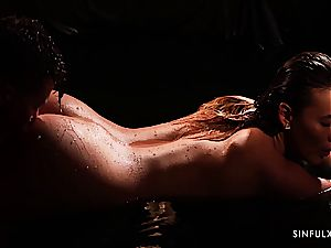 Romantic and wet sequence with an absolute goddess Vanessa Decker