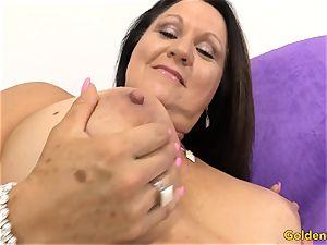 senior damsel Leylani meatpipe likes toyboy prick
