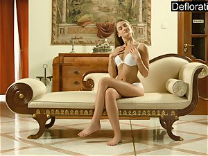 super sizzling and kinky Hungarian teen Enzio Ricci