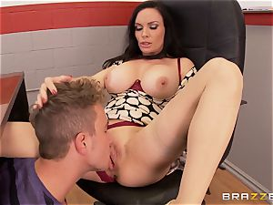 sloppy educator Diamond Foxxx romps in the classroom