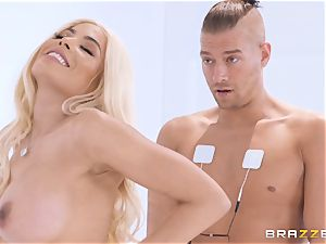 anal invasion pumping out Luna star