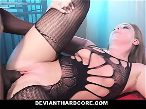 DeviantHardcore - interracial buttfuck babe Gets dominated