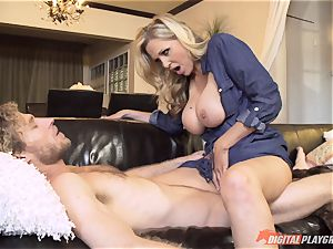 Julia Ann poon crammed on mothers day