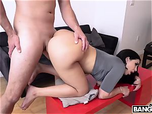My fat butt jealous girlfriend Valerie Kay ravages me by her donk