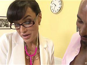 Lisa Ann jaw-dropping milf medic