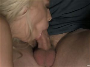 hot Britney Amber spits all over this manmeat