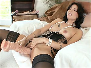 Zoey Holloway wearing some luxurious undergarments