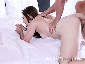 Nubiles casting - hardcore pornography audition for rookie