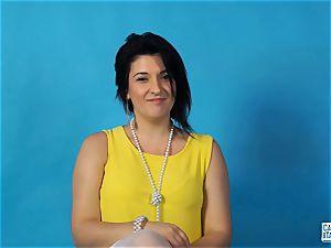 CastingAllaItaliana - Italian babe gets anal invasion in audition