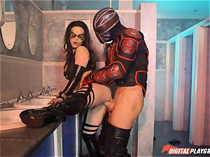Nekane is the hottest super heroine youl plow today