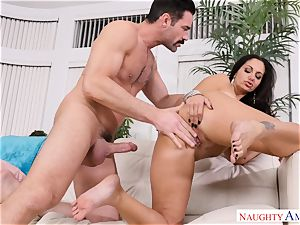 Ava Addams screwed on the couch