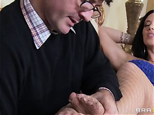 horny cutie Jayden Jaymes loves her spouse but wants Johnny's weenie