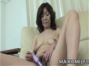 Eriko Nishimura - JAV grandma Addicted To A young knob