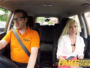 fake Driving college Barbie Sins sloppy deep throat