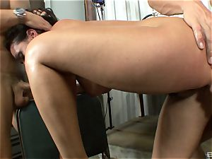 marvelous brown-haired with fat breasts Charley haunt