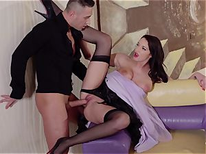 PINUP intercourse - super-hot shag with Hungarian softcore honey