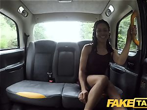 faux taxi fast pulverizing and creampie for peachy caboose