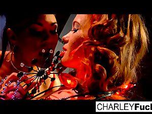 Charley and her stellar girlfriend penetrate