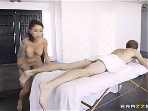 Monique Alexander secretly taking the hefty monster rod of Danny D in the donk