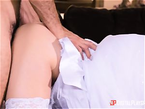 Bride Casey Calvert banged before her wedding