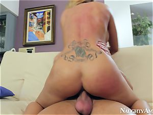 luxurious mature slut has fuck-a-thon with a youthful boy