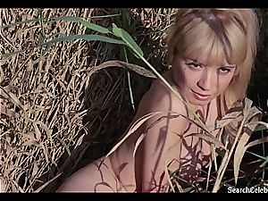 magnificent Ingrid Steeger makes her vag perceives beautiful