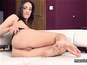 Peculiar czech nympho opens up her open up fuck hole to the unusual
